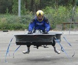 Hoverbike Front View