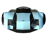 Mercier Jones Hovercraft - Front View