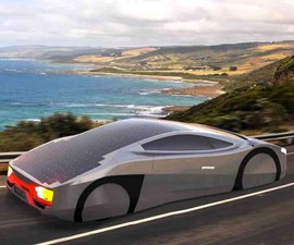 Immortus Solar Sports Car