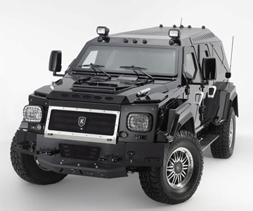 Knight XV Fully Armored SUV