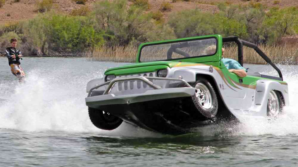 The World's Fastest Amphibious Car
