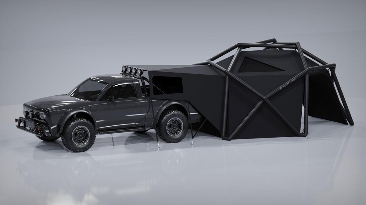 Heimplanet Cloudbreak Tent for AMC Wolf+ E-Truck