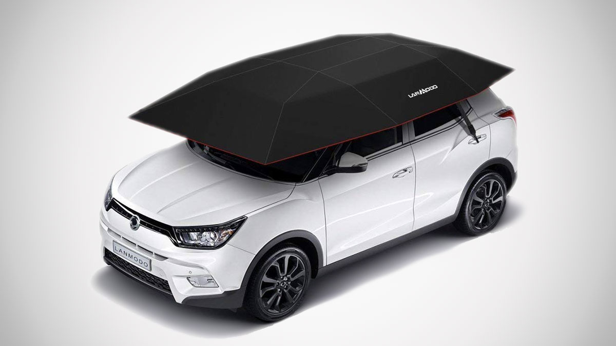 Lanmodo Portable Automatic Car Tent