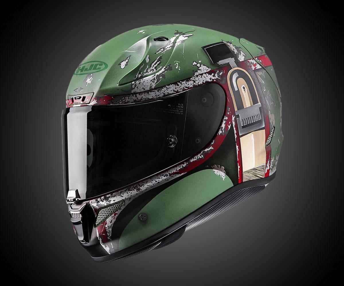Hjc Fg 17 >> Boba Fett Motorcycle Helmet | DudeIWantThat.com