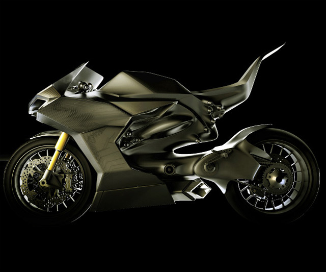 Hybrid Race Replica Motorcycle Dudeiwantthat Com
