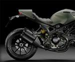 Ducati Monster Diesel - Back End Profile