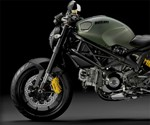 Ducati Monster Diesel - Front End Profile