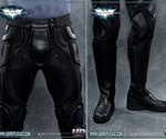 The Dark Knight Rises Motorcycle Suit - Pants & Boots Closeup