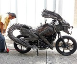 Creator Roongrojna Sangwongprisarn & His Alien Motorcycle