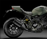 Ducati Monster Diesel - Back End Profile