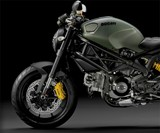 Ducati Monster Diesel - Front End Profile