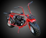 Gas Powered Mini Trail Bike