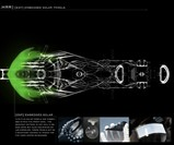 Hybrid Race Replica Motorcycle - Solar Paneling Diagram