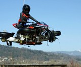 Lazareth LMV496 Flying Motorcycle