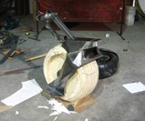 RYNO One Wheel Motorcycle Fabrication