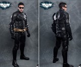 The Dark Knight Rises Motorcycle Suit - Front & Back Views