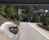 LiveMap - Bike Helmet with Built-In Navigation