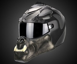 Orc Dragon Motorcycle Helmet