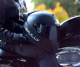 Skully HUD Motorcycle Helmet