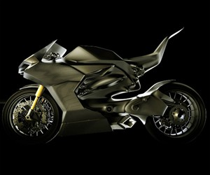 Hybrid Race Replica Motorcycle
