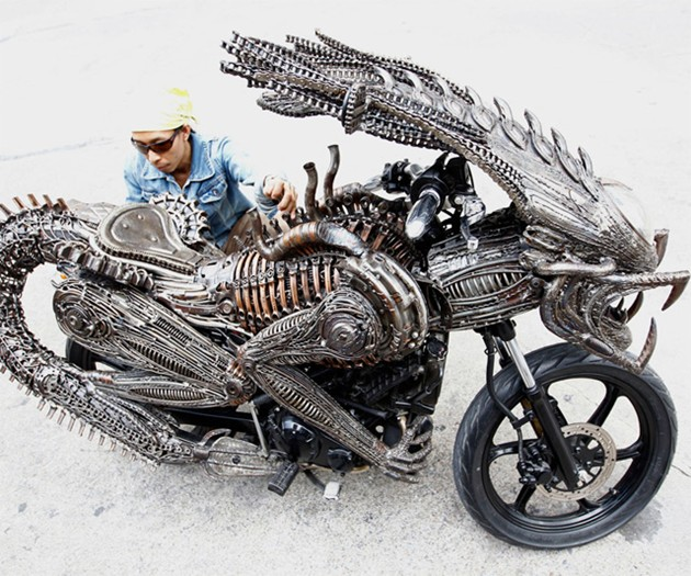 Alien Motorcycle