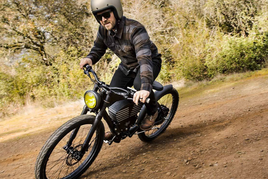 Vintage Electric Scrambler S Off Road E Bike
