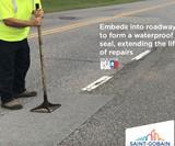 American Road Patch - Peel & Seal Pothole Repair