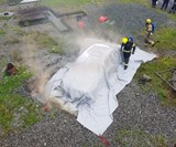 Car Fire Blanket