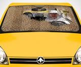 Car Full of Bees Sunshade