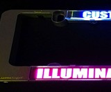 LumiSign Custom LED License Plate Frame