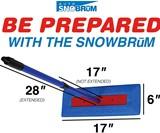 SnowBrum Snow Remover for Cars & Trucks