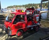 Subaru Sambar AWD Fire Truck