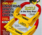 Trimax Wheel Chock Lock