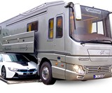 Volkner Mobil RVs with Built-In Car Storage