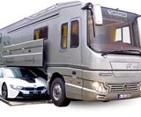 Volkner Mobil RVs with Built-In Car Storage