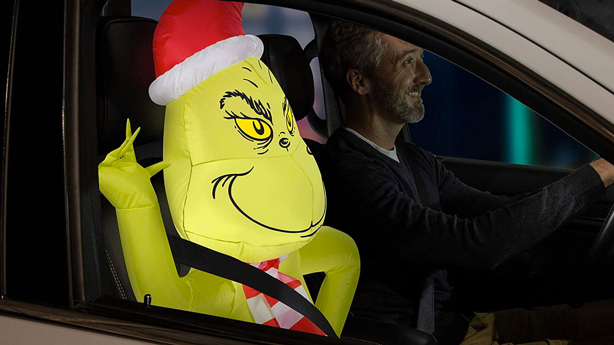 The Grinch Airblown Inflatable Car Buddy