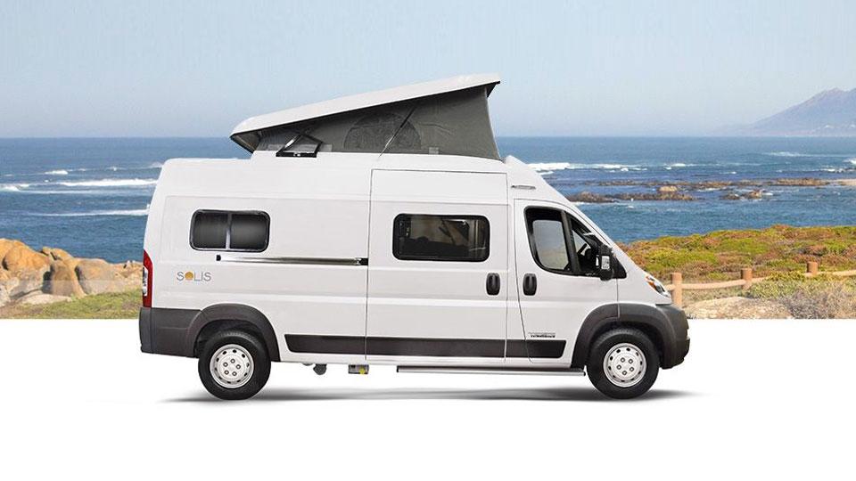 Winnebago Solis Pop-Top Camper Van