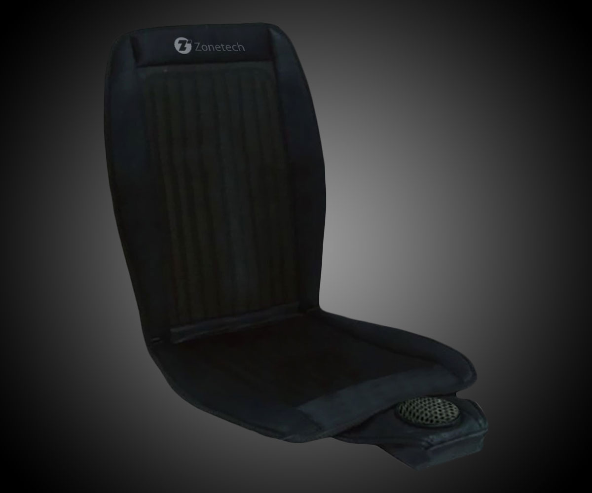 zone tech cooling car seat cushion. Black Bedroom Furniture Sets. Home Design Ideas