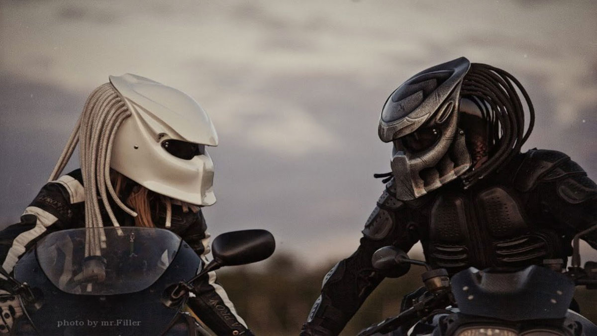 Beroemd Sick in the Head: The 10 Coolest Motorcycle Helmets @PA65