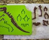 3D Chocolate T-Rex Mold