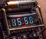 ChronodeVFD: Cyberpunk Wristwatch
