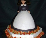 Pilgrim Barbie Cake