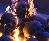 Skull Fireplace