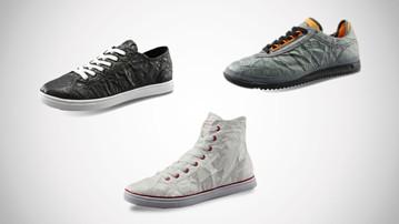67baecaa2b91c Unstitched Utilities Tyvek Sneakers | DudeIWantThat.com