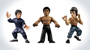 Bruce Lee Fanatiks Series Action Figures