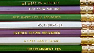 Favorite TV Show Pencils