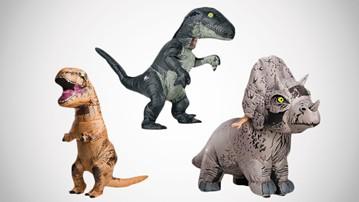 Jurassic World Air-Blown Costumes