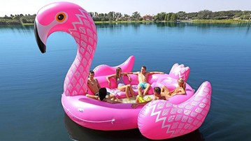 Party Bird Island Rafts