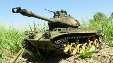 RC Airsoft Battle Tanks