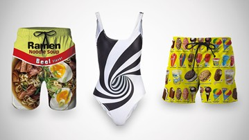 Strange, Silly & Standout Swimwear